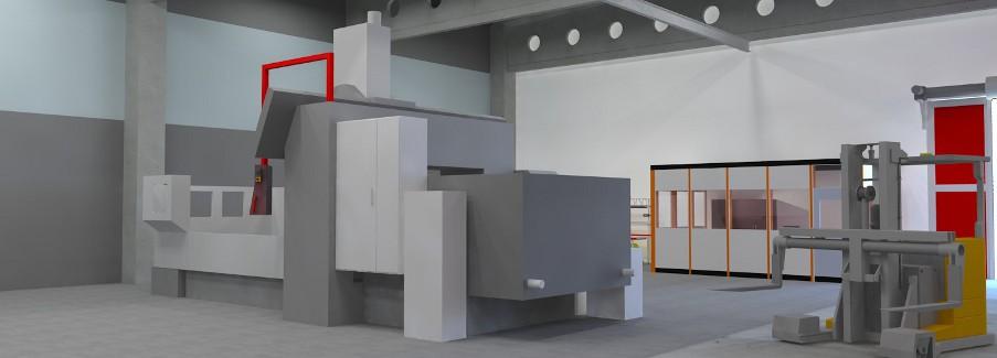 Steinbeis-Transferzentrum Fabrikplanung - fotorealistische Darstellung